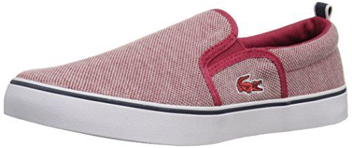Lacoste Gazon 216 1 SPJ RED Loafer (Little Kid/Big Kid) - http://all-shoes-online.com/lacoste/lacoste-gazon-216-1-spj-red-loafer-little-kid-big