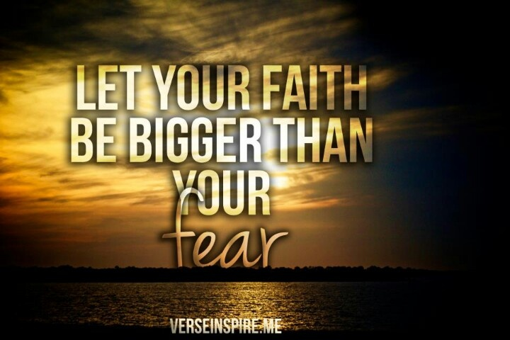 Faith Over Fear Image Quotes. QuotesGram