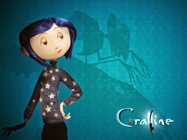 Coraline e o mundo secreto.  Atividades sobre o filme, lá no blog.