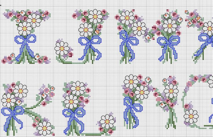 Daisy alphabet 3