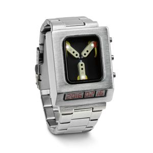 Back to the Future Flux Capacitor Wristwatch | A ThinkGeek creation & exclusive! | ...sooooo want this, even if it is super low-tech!
