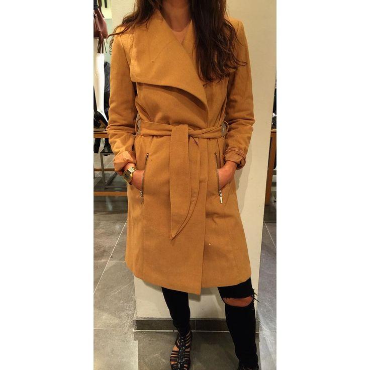 Fått inn denne RÅ KULE jakka i ullblanding i dag❤️ #fall #høst @veromodanorway #veromoda #fashion #ootd #newin