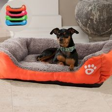 Cute Pets Small Large Warm Cats Puppy Dogs Beds Kennel Matt Pads