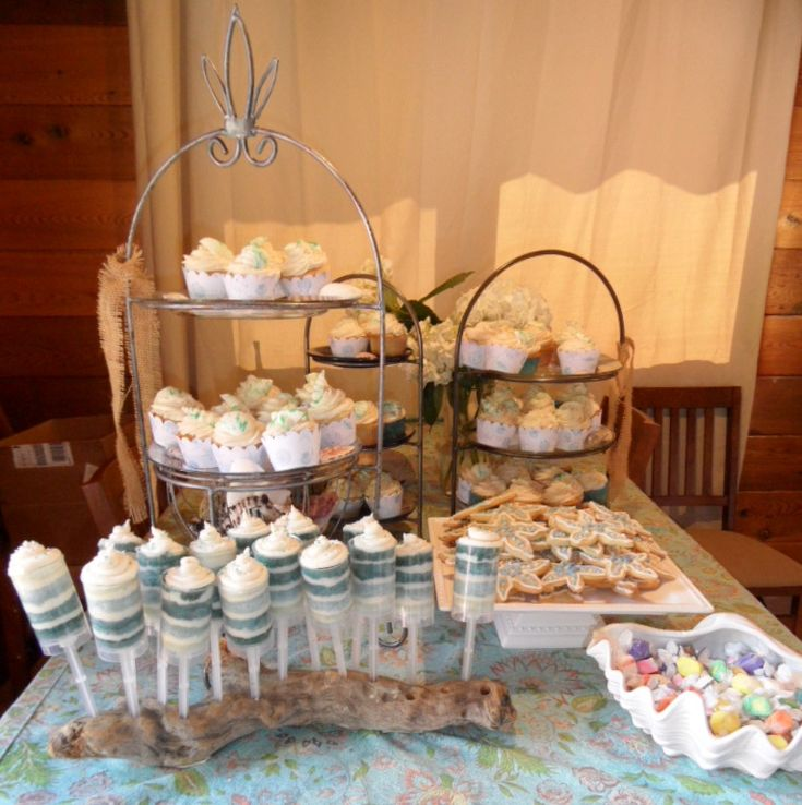 Beach Themed Graduation Party My Darling Niece Emily Graduated From High School And I Designed A Rustic Theme For Her