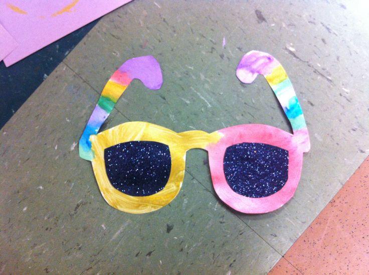 Summer Sunglasses Crafts Preschool