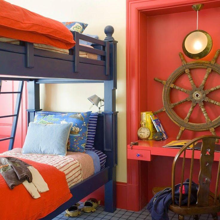 Łóżko piętrowe - piękne oszczędzanie miejsca