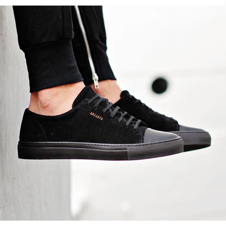 Axel Arigato all black sneaker with a classic design, handcrafted with premium Italian materials www.axelarigato.com #axelarigato