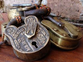 Old padlocks