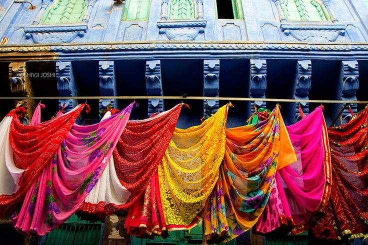 Blue Houses Of Jodhpur Copyright With SHIVJI JOSHI