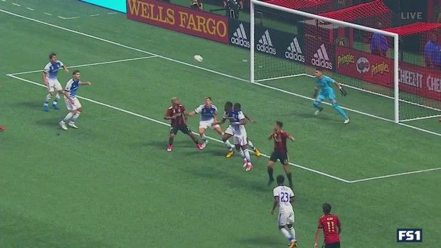 #MLS  GOAL: Leandro Gonzalez Pirez scores the first goal at Mercedes-Benz Stadium