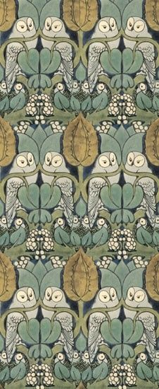 William Morris, Owl Pattern - not sure if is truly is but that's what it says