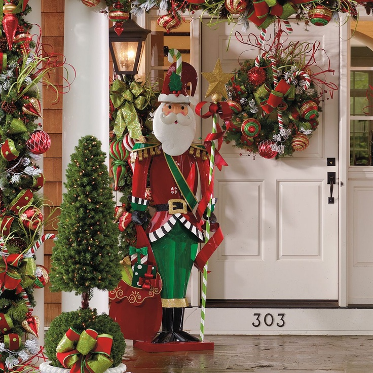 holiday decor 7 noel santa frontgate he would be a nice addition on