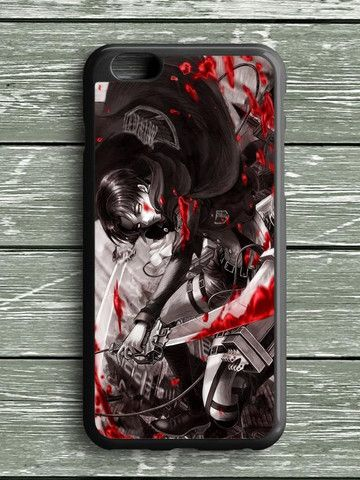 Blood Attack On Titan Rivaille iPhone 6S Plus Case