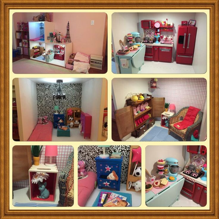 17 Best Images About American Girl Dollhouses On Pinterest