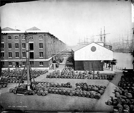 London Docks, No. 1 Warehouse, Wapping