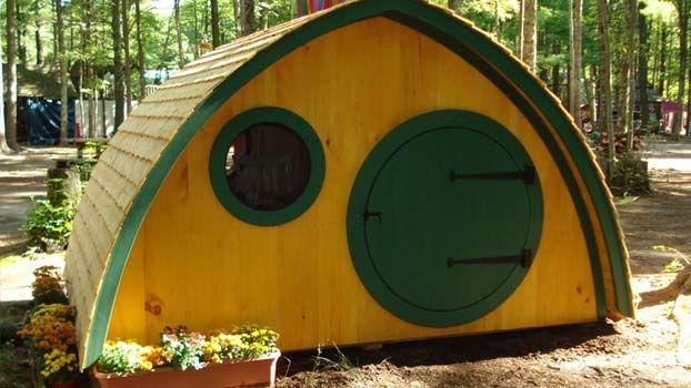 10 Casette in legno per giardino