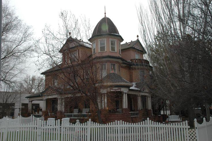 Whitmore Mansion, Nephi, Utah.