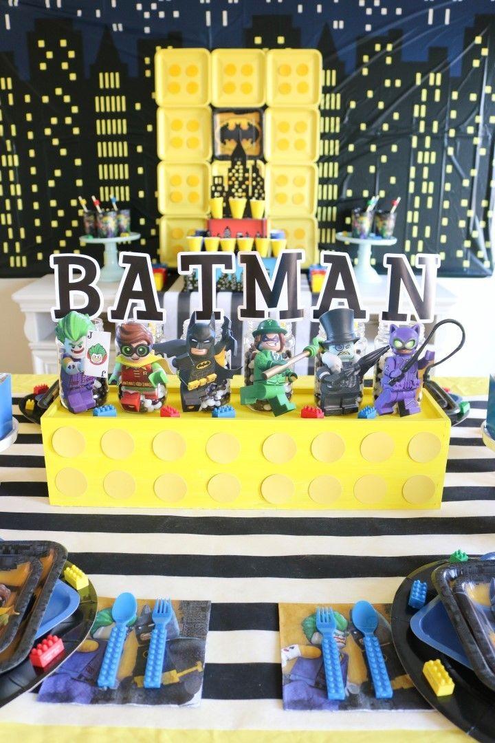 Best ideas about batman party centerpieces on
