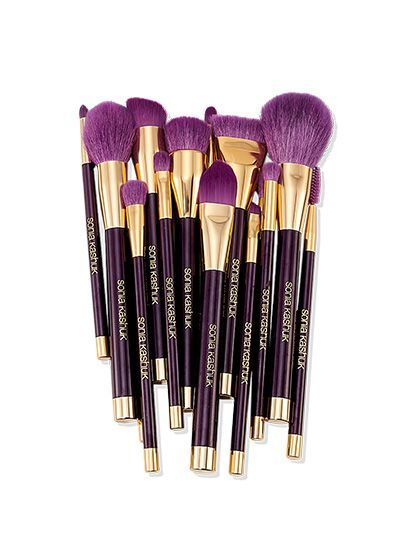 Add a pop of color to your beauty collection with these Sonia Kashuk makeup brushes. Store in an acrylic jar for an added level of sophistication! http://www.allure.com/beauty-products/2014/must-have-beauty-products-for-fall-2014#slide=3