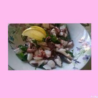 lericettediziasara: insalata di polpo( octopus salad)