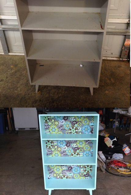 bookshelf makeover 2