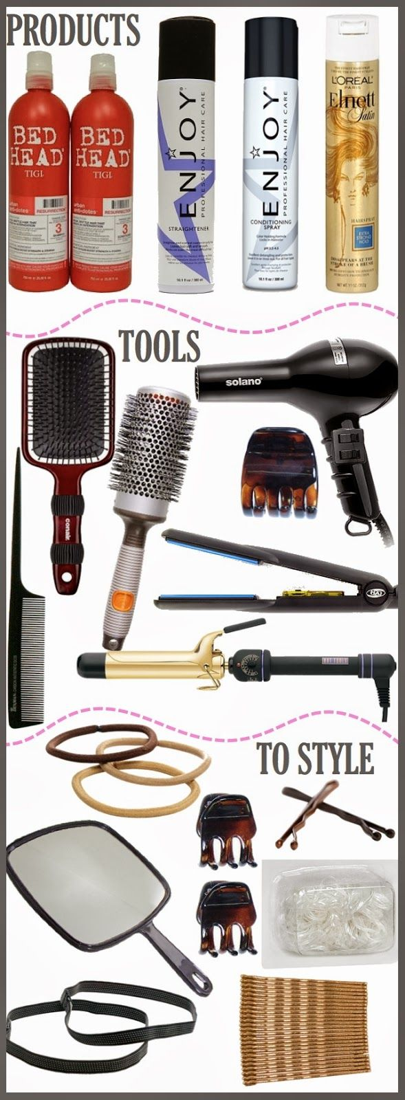 Must Have Hair Products and Hair Tools {esp. for Thick Hair} | Luci's Morsels