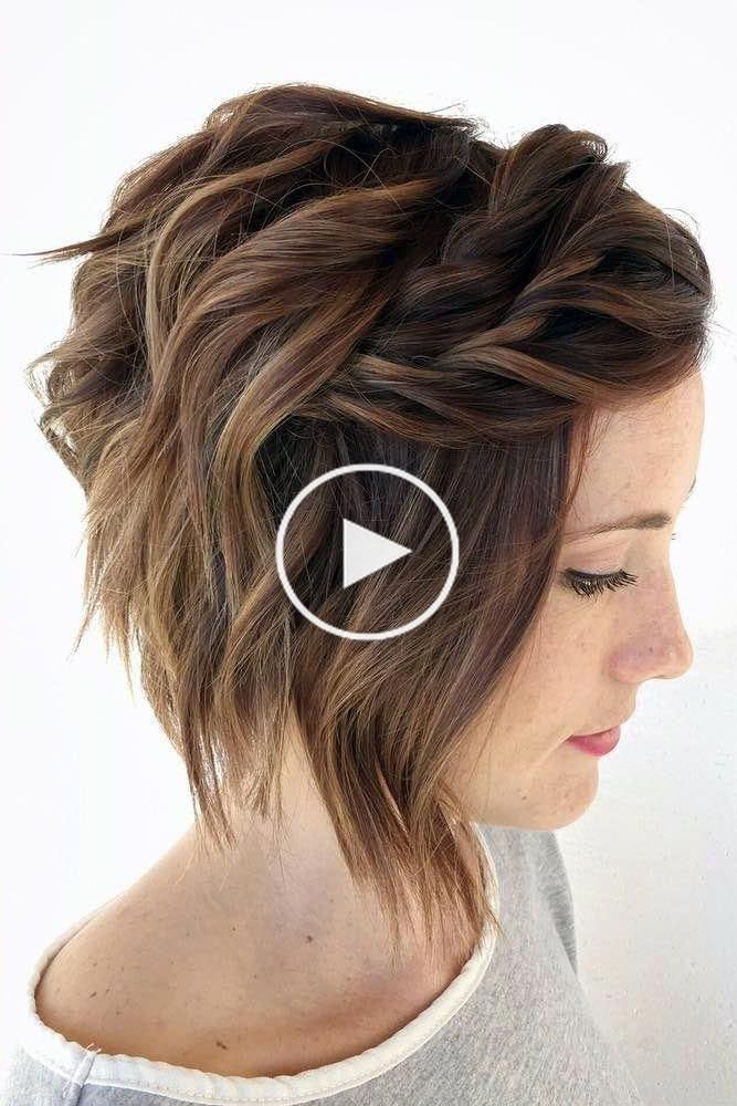 Christmas Party Hairstyles To Enhance Your Look Braids For Short Hair Short Hair Styles Short Wedding Hair