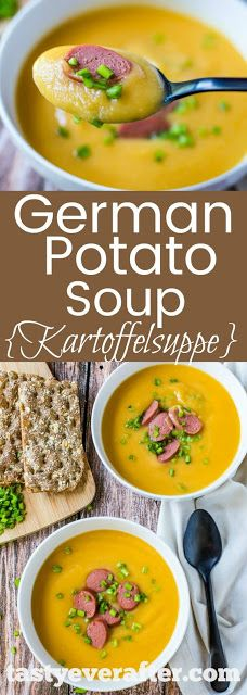 German Potato Soup - My Kitchen Recipes