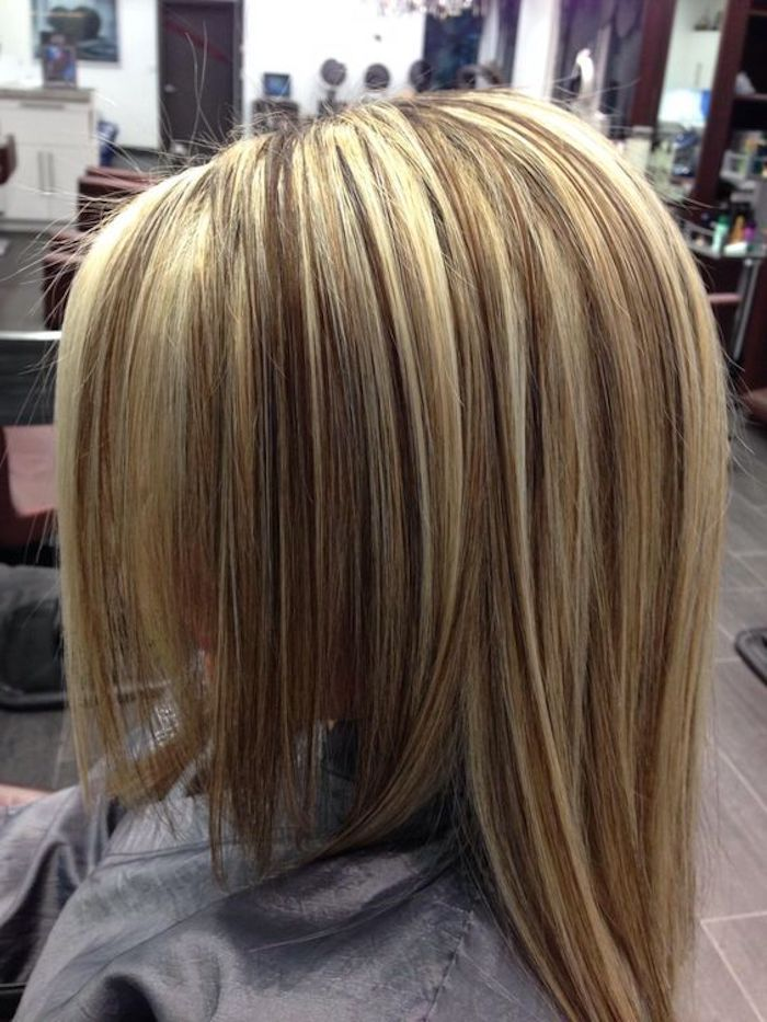 1001 Ideen Und Bilder Zum Thema Strahnchen Selber Machen Frisuren Blond Strahnchen Selber Machen Braune Haare Frisuren