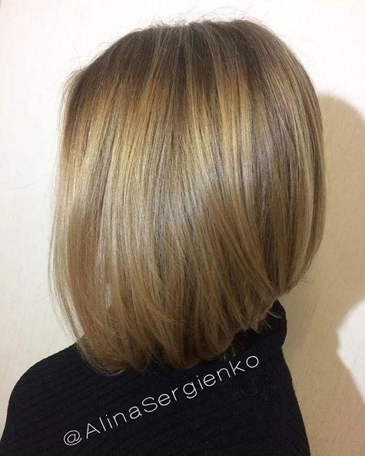 🎀 Волосы роскошнейшие!!!! А стрижка и окрашивание их только украшают!!!! 🎀  🌹✂Ваш мастер Алина Сергиенко ========================= #ОкрашиваниеМосква... - Елена Сергиенко - Google+
