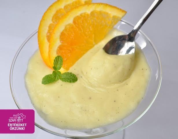 Paleo-vegán krémtúró ízű diétás desszertkrém (gluténmentes, tejmentes, tojásmentes, cukormentes)