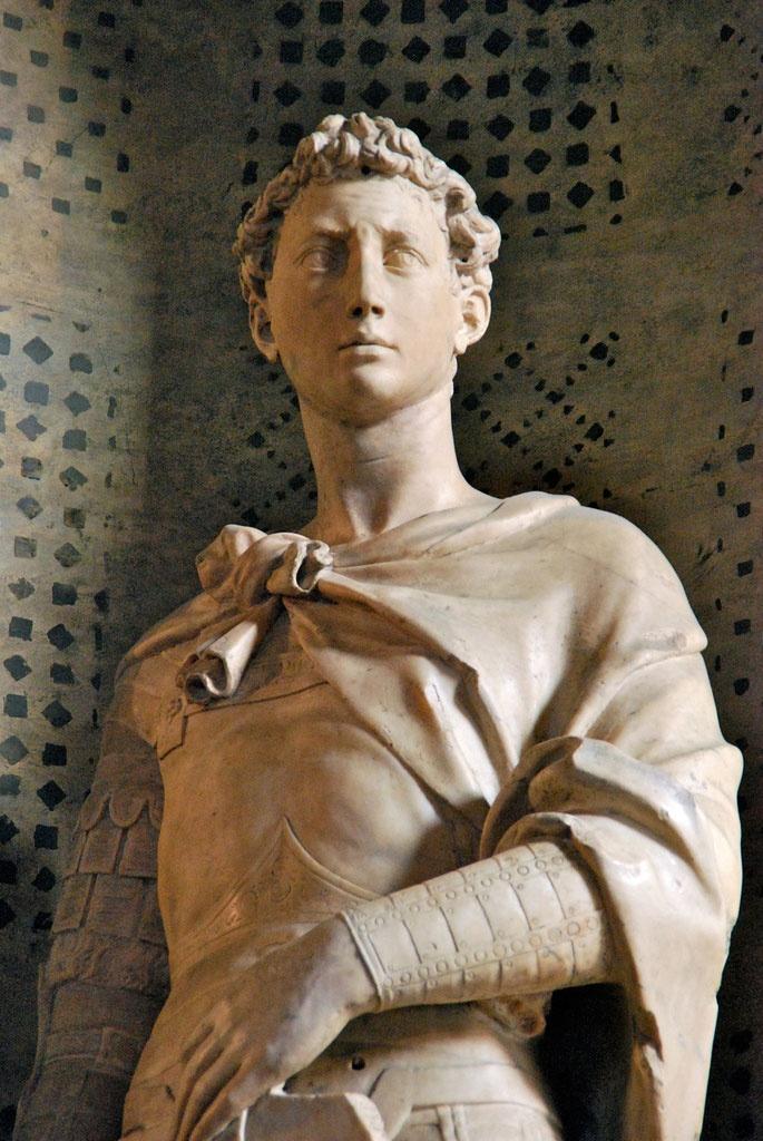 Donatello: St George, Orsanmichele