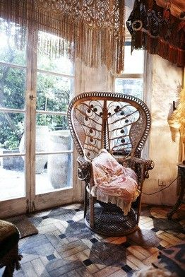Peaceful. Moon to Moon: August 2012. gypsy boho boheme bohemian home decor