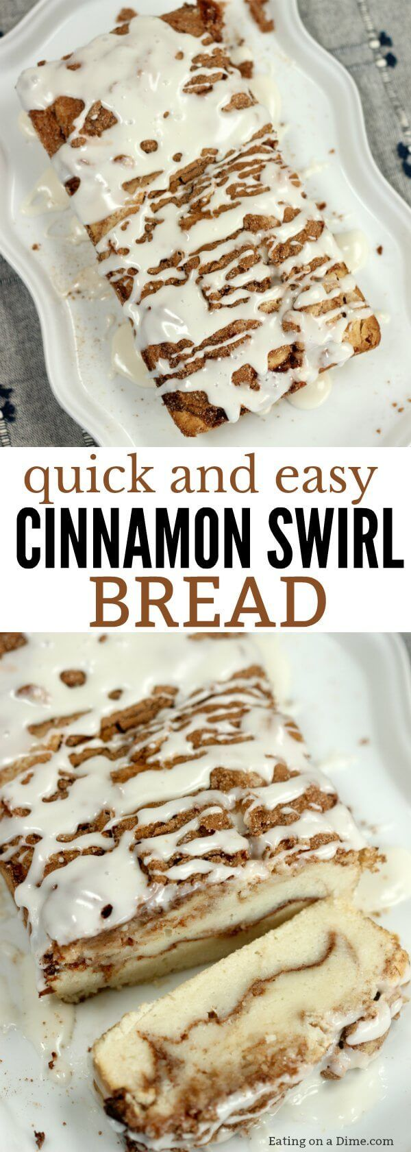 Try this easy Cinnamon Swirl Bread Recipe. You have to make this delicious cinnamon roll bread recipe. It is our favorite cinnamon bread recipe.
