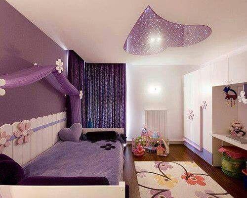 purple girly room kids room pinterest