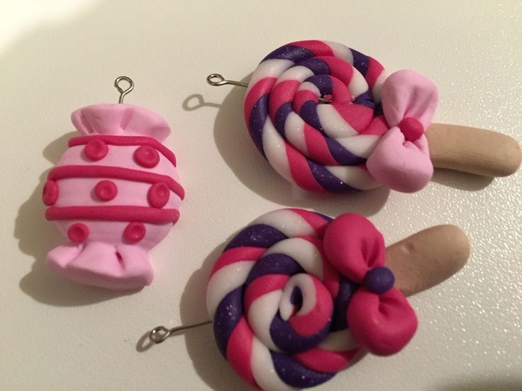 Caramelle in fimo