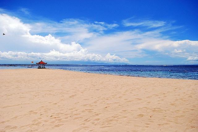 Private Beach at Grand Mirage Bali