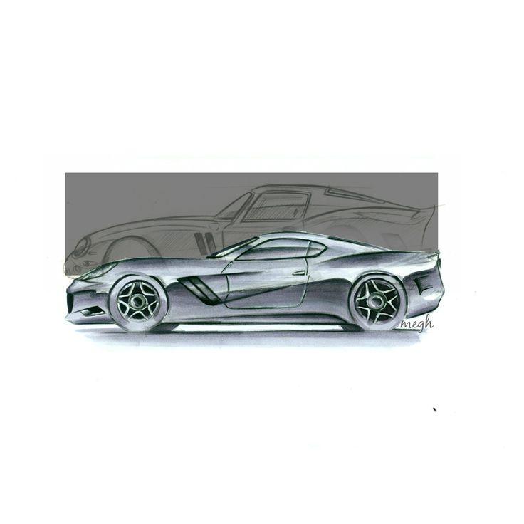 Ferrari 250 GTO redesign