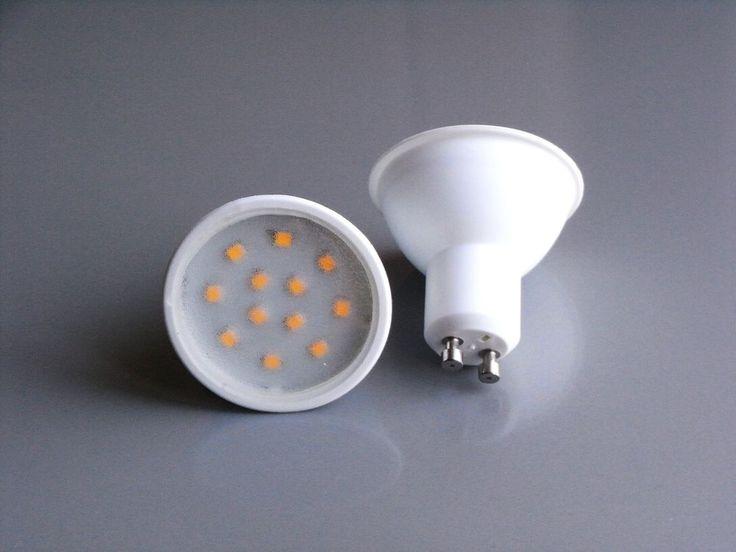 8 x LED SMD GU10 Spot Strahler 4Watt 4W Daylight Tageslicht 6000K Halogen Ersatz