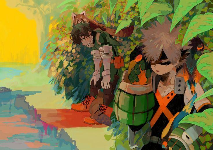 Characters: Midoriya Izuku, Katsuki Bakugou