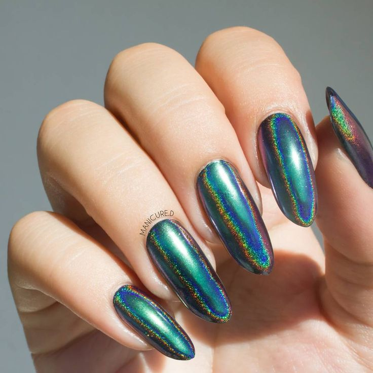 105 best Holographic Nails images on Pinterest