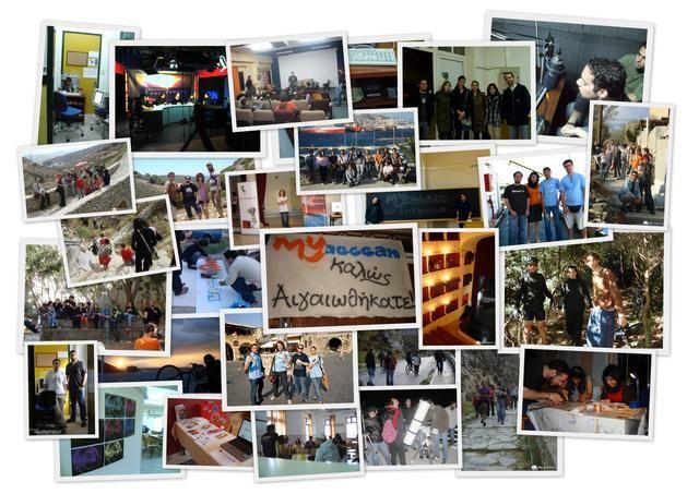 MyAegean Various Activities - a collage from events, side projects and activities. #myaegean #activities #students #volunteers #life #team #initiative #uaegean #aegeanuni