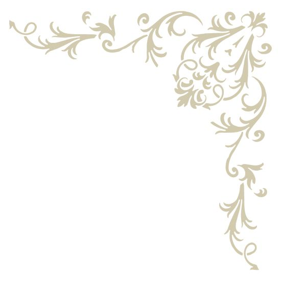 You can use this Victorian Baroque Accent Corner Stencil to create your own patterns all over your wall or Floor. Quickly and easily create Victorian historical ambience in your home!
