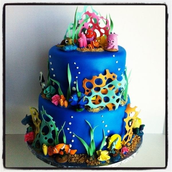 Nemo Cake: 94 Best Images About Taylor's Birthday Party On Pinterest