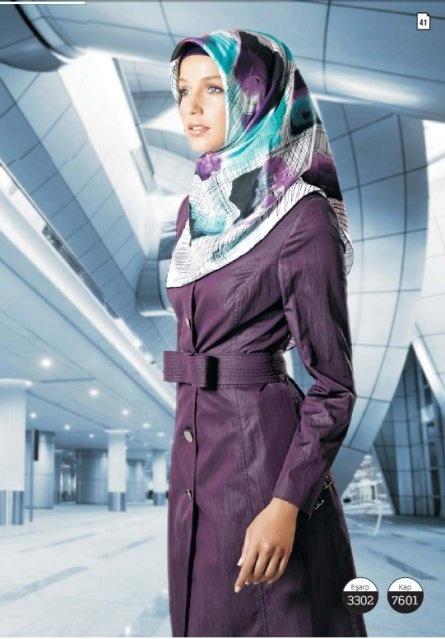 turkish hijab style with pardesu