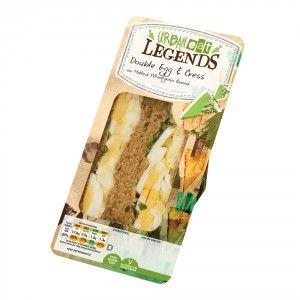 Double Egg Mayonnaise & Cress Sandwich