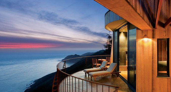 Where I would love to get married.  - Post Ranch Inn. Big Sur, CA