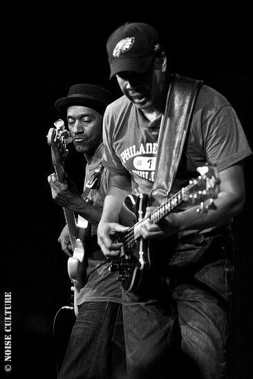 Marcus Miller & Stanley Clarke, by Ian Arné