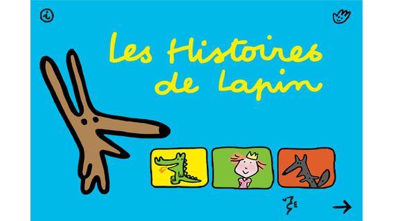 Les Histoires de lapin de Soledad Bravi (Europa-Apps). Plusieurs romans disponibles de cet auteur dans les médiathèques du réseau