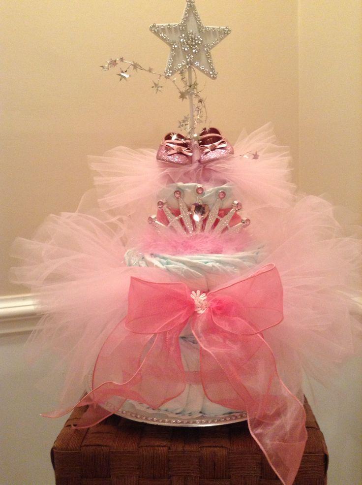 Tutu Diaper Cake by Becki